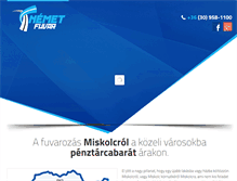 Tablet Preview of fuvarozas-miskolc.hu